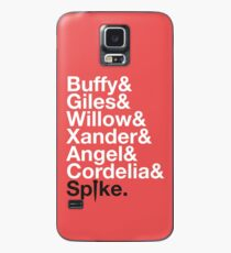 BUFFY THE VAMPIRE SLAYER AND SCOOBY GANG Case/Skin for Samsung Galaxy