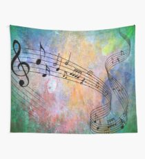 Abstract Music Wall Tapestry