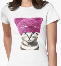 Pussycat Women's Fitted T-Shirt
