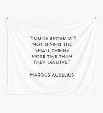 MARCUS AURELIUS  Stoic Philosophy Quote  Wall Tapestry