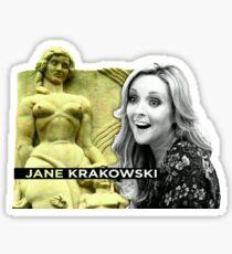 Jane Krakowski - 30 Rock Opening 2 Sticker