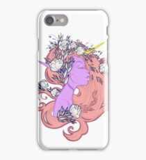 Horned Floral Fairy iPhone Case/Skin