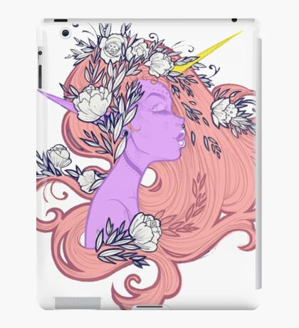 Horned Floral Fairy iPad Case/Skin