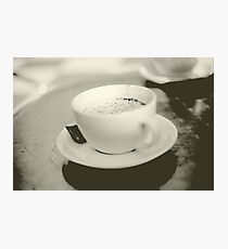 Coffee Cup Photographic Print