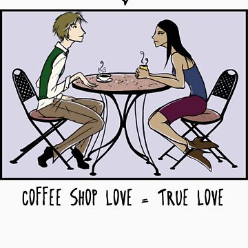 Coffee Shop Love by greekamazon