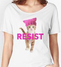 Resistance Kitten Women's Relaxed Fit T-Shirt