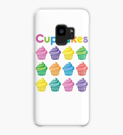 Cupcakes Pretty Case/Skin for Samsung Galaxy