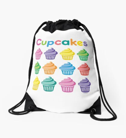 Cupcakes Pretty Drawstring Bag