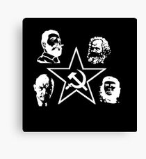 B&W Communism Canvas Print