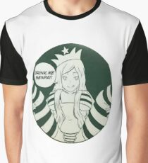 Drink Me Senpai  Graphic T-Shirt