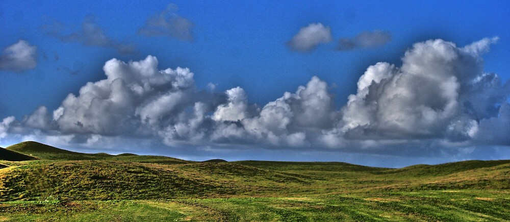 Fields of Clouds by Mikester