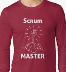 Scrum Master, an Agile T-shirt Long Sleeve T-Shirt