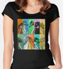 Wings of Fire - Dragonets Women's Fitted Scoop T-Shirt