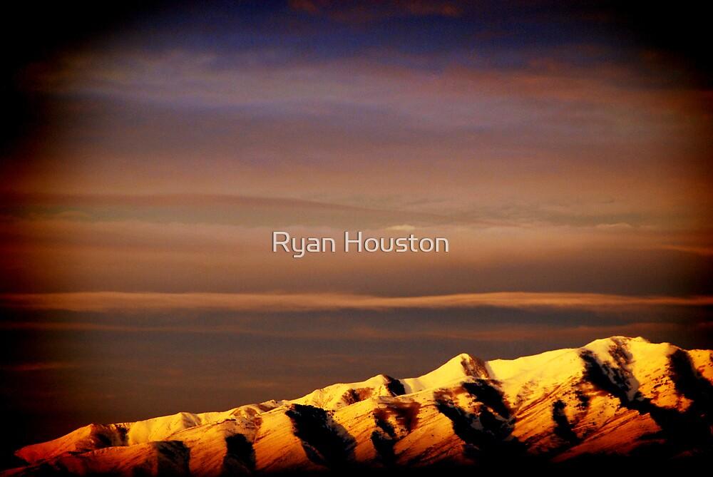 Mountain Sunrise by Ryan Houston