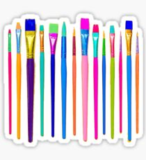paint brushes Sticker