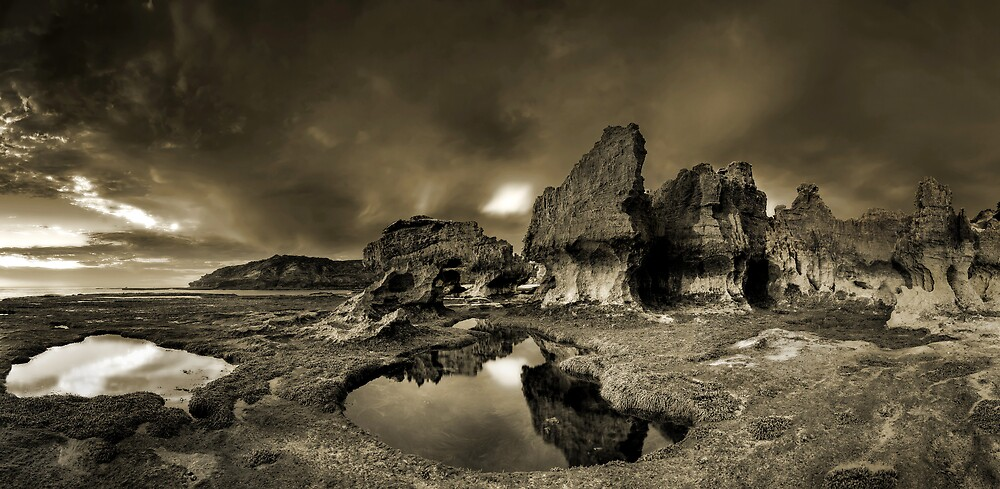 Erosion City Mono by Robert Mullner