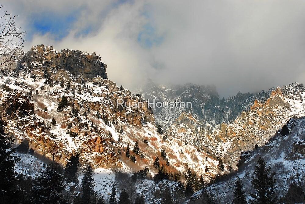 American Fork Canyon Winter by Ryan Houston