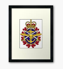 Badge of the Canadian Armed Forces Framed Print