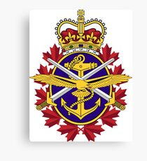 Badge of the Canadian Armed Forces Canvas Print