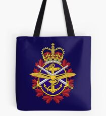 Badge of the Canadian Armed Forces Tote Bag
