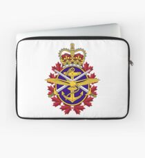 Badge of the Canadian Armed Forces Laptop Sleeve
