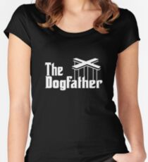 The Dog Father Women's Fitted Scoop T-Shirt