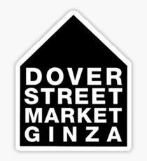Dover Street Market Ginza Logo Sticker