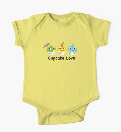 Cupcake Love II Kids Clothes