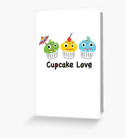 Cupcake Love II Greeting Card