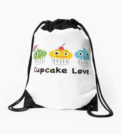 Cupcake Love II Drawstring Bag