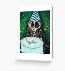 Slow Lori's Birthday Party Greeting Card