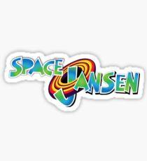 Space Jansen  Sticker