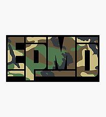 EPMD camouflage Photographic Print