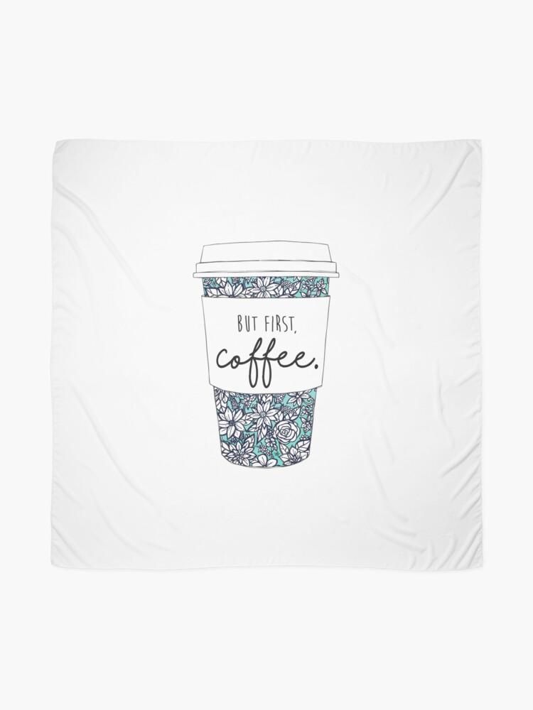Alternative Ansicht von Blumenkaffee Tuch