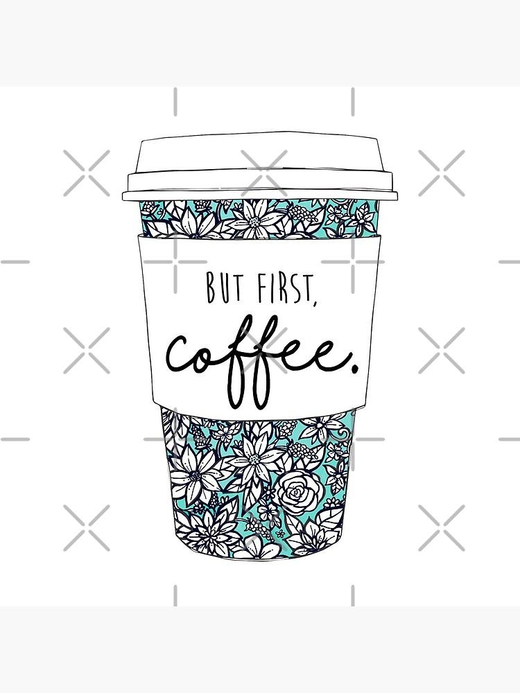 Floral Coffee by aterkaderk