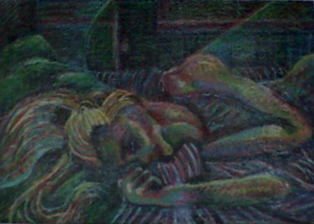 The Dreamer (Colored Pencil)- by Robert Dye