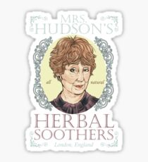 Mrs. Hudson's Herbal Soothers Sticker