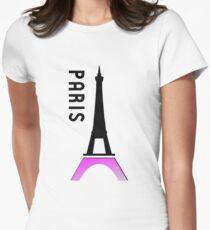 france paris eiffel tower Womens Fitted T-Shirt