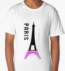 france paris eiffel tower Long T-Shirt