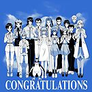 Congrats by coinbox tees