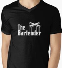The Bartender Men's V-Neck T-Shirt