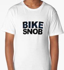 Bike Snob / bicycle snob - blue Long T-Shirt