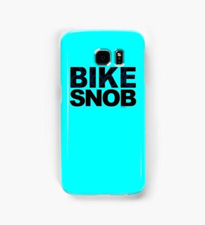 Bike Snob / bicycle snob - blue Samsung Galaxy Case/Skin