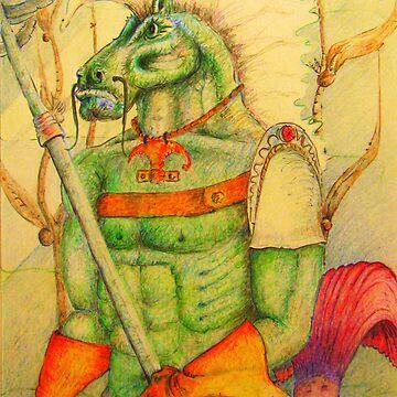 War horse by del8888