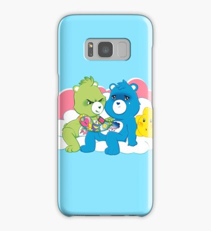Care Bears Ink (in blue for boys) Samsung Galaxy Case/Skin