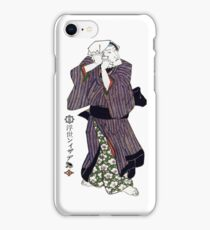 C-030 Actor adjusting his headscarf iPhone Case/Skin