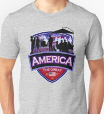 America First the Great Memorial Patriot  Unisex T-Shirt
