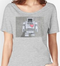 Robot love  Women's Relaxed Fit T-Shirt
