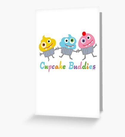 Cupcake Buddies Greeting Card