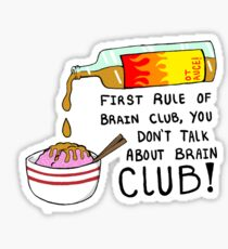 IZombie - Brains Club Sticker
